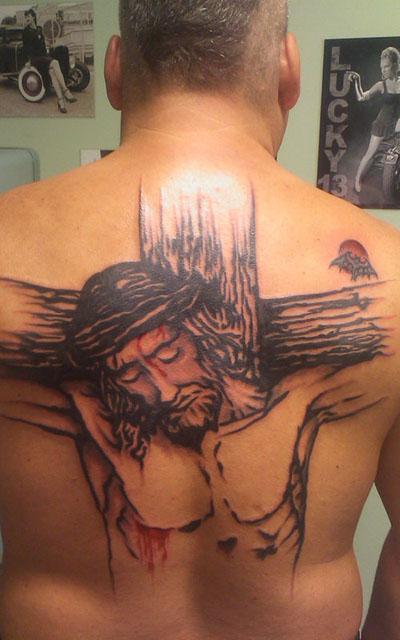 Gottes pfad gebet blutige tattoo der Orval u.
